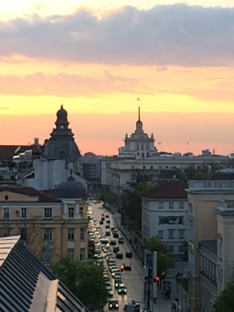 View of Tsar Osvoboditel Boulevard
