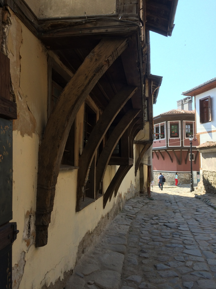 Village Houses in Old Plovdiv