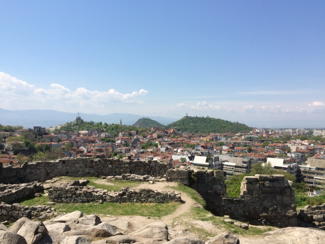 View from the hill in Plovdiv
