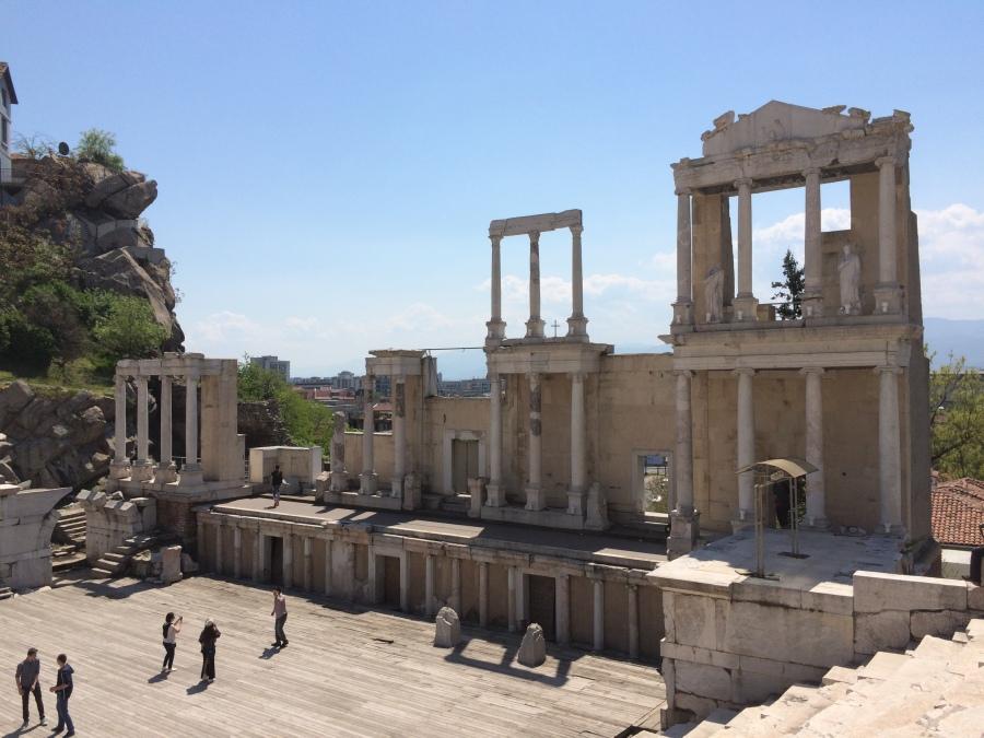 Roman Amphitheatre in Plovdiv