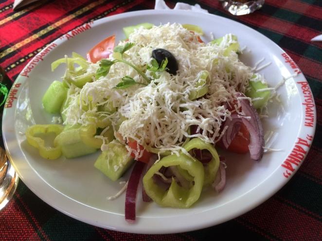 Shopska Salad in Plovdiv