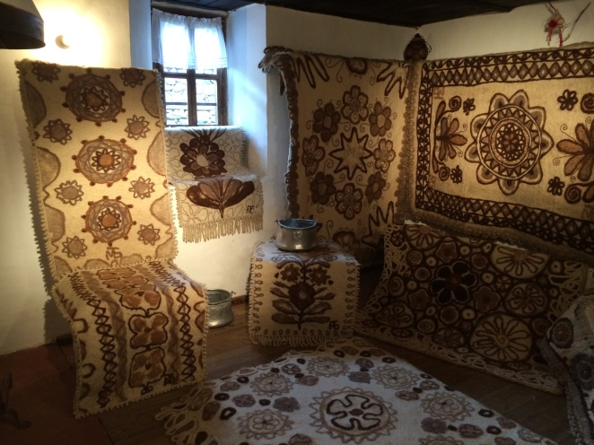 Exhibition of Carpets - Typically Displayed Throughout the Village House