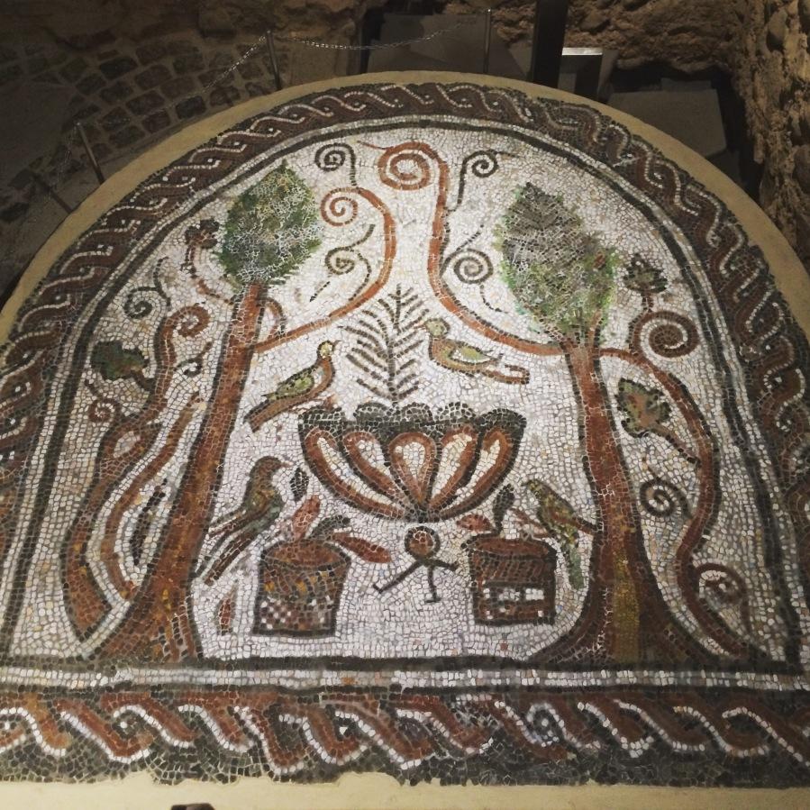 Roman Mosaic depicting Roman Paradise