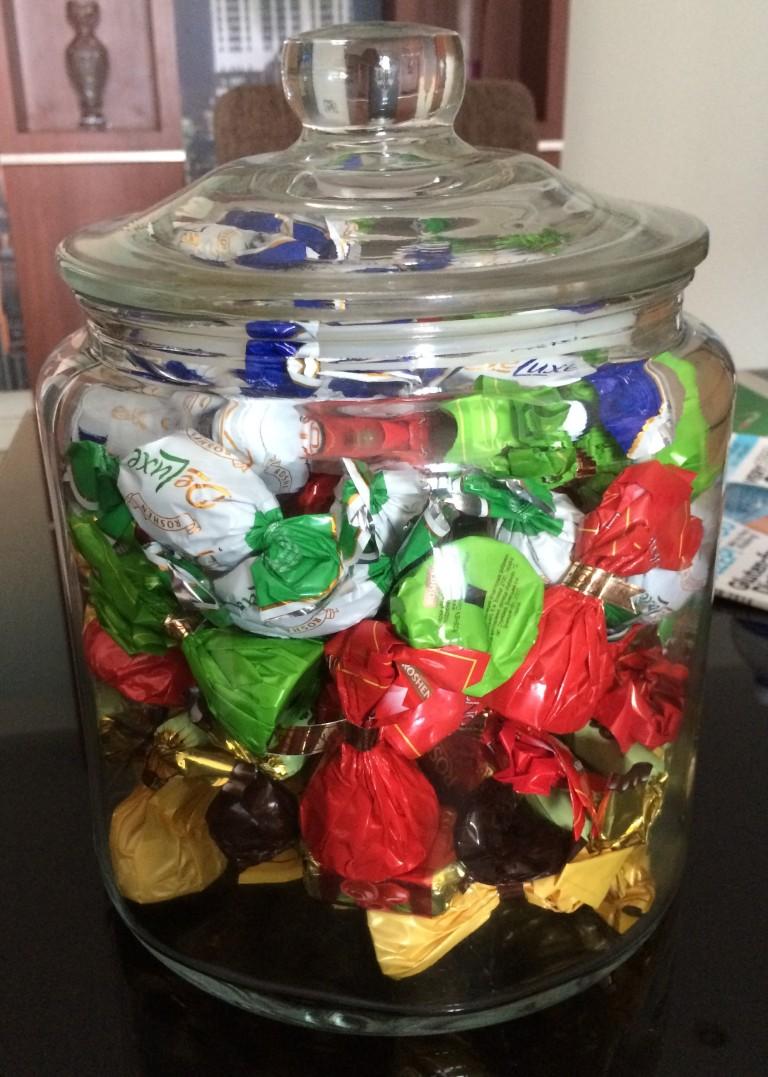 Roshen Chocolates Treasures :)