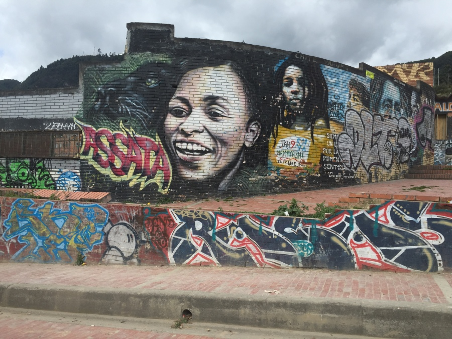 Graffiti near Plaza Quevedo de Chorro