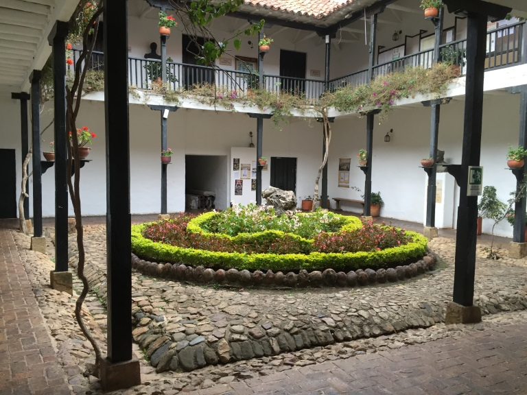 Beautiful Colonial Courtyard in Villa De Leyva