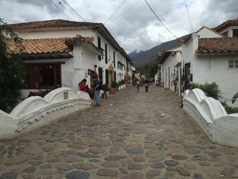 Cobble-stoned Colonial Streets in Villa de Leyva