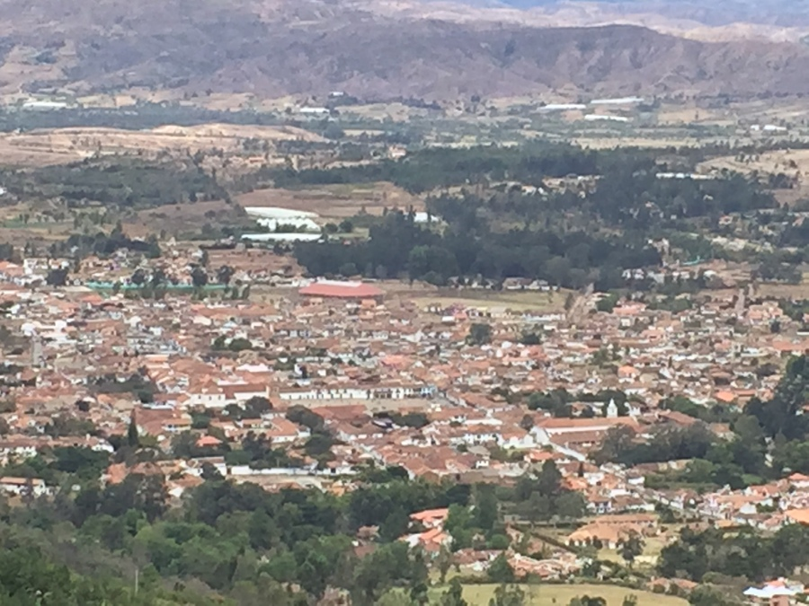 Bird's Eye View of Villa De Leyva