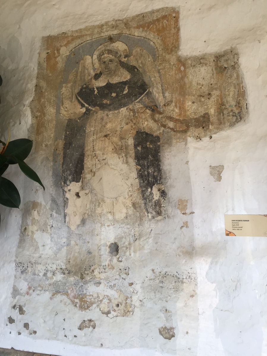 Mural Painting From 16th Century in Santo Domingo Ecce Homo Monastery