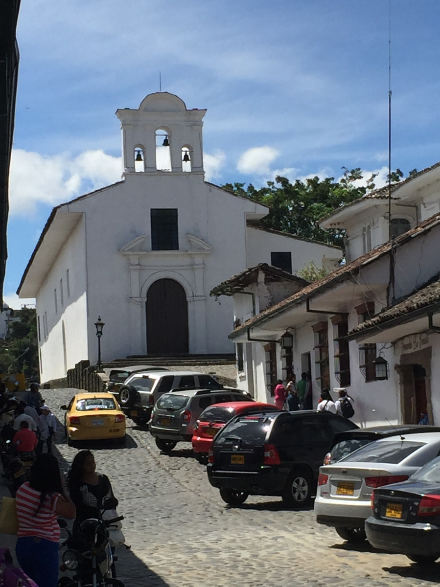 One of The Colonial Churches in Popayan