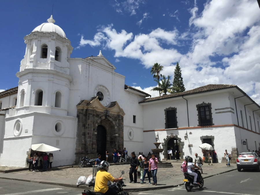 Santo Domingo Church - The Cloister Is Now A University