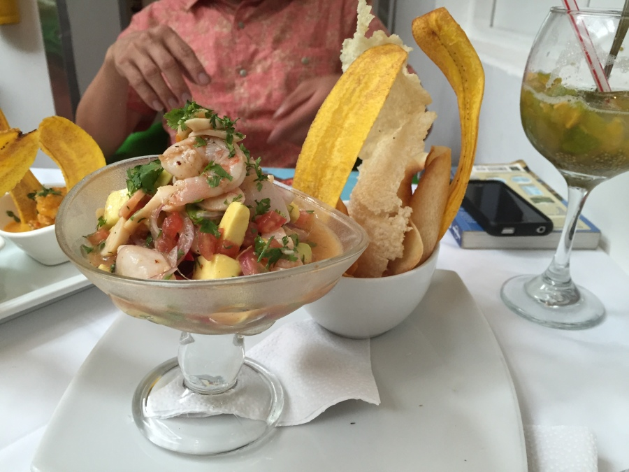 Ceviche at Platillo Voladores, Cali - Best Ever!