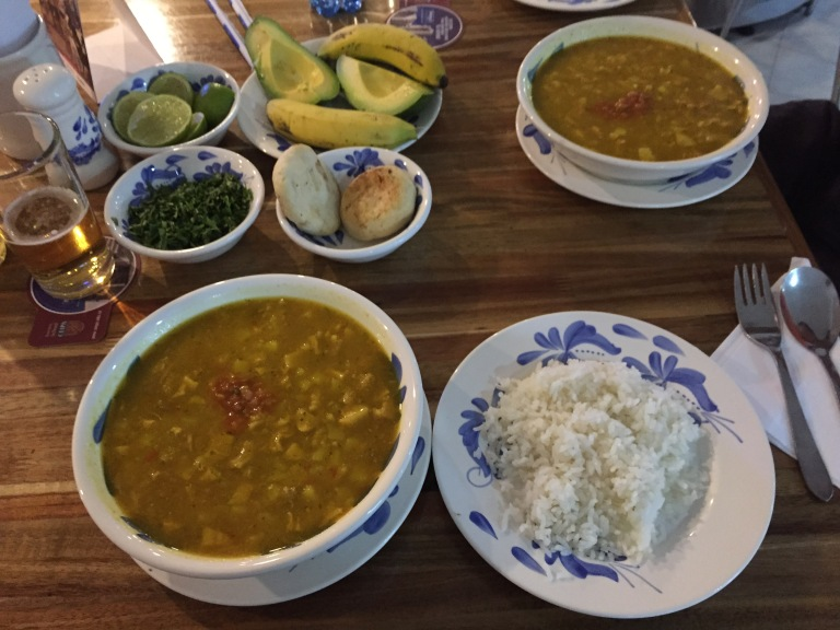 Mondongo (tripe soup) at Mondongo's in Medellin