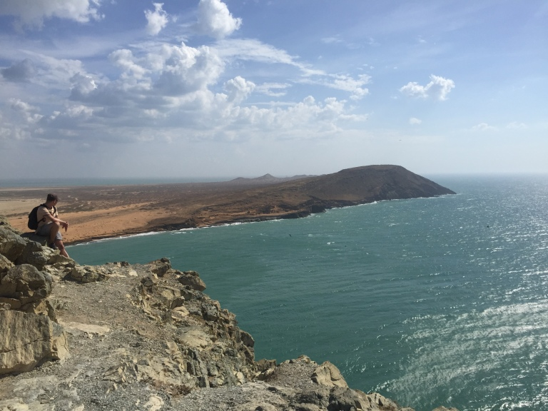 View of Cabo de La Vela From Pilon de Azucar