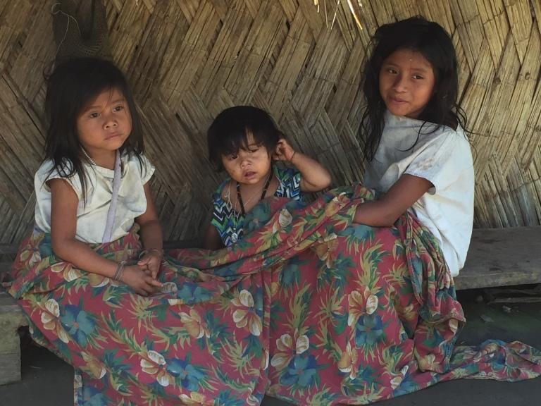 Granddaughters of a Shaman in Ciudad Perdida