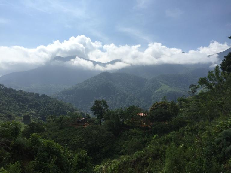 Beautiful Sierra Nevada de Santa Marta Peaks During Our Trek
