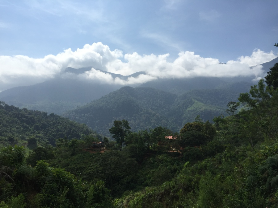 Beautiful Sierra Nevada de Santa Marta Peaks During Our Trek