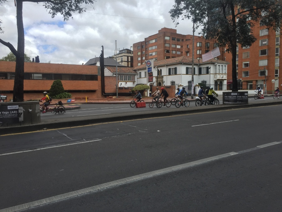 Ciclovia on Sunday Morning, Bogota