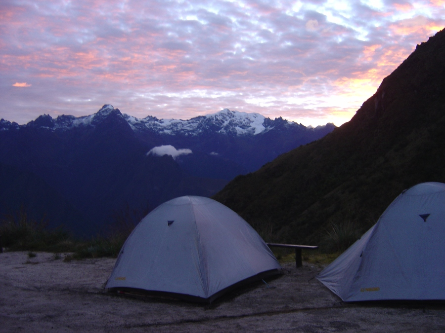 Our Camp on Inca Trail (Day 2) To Macchu Picchu