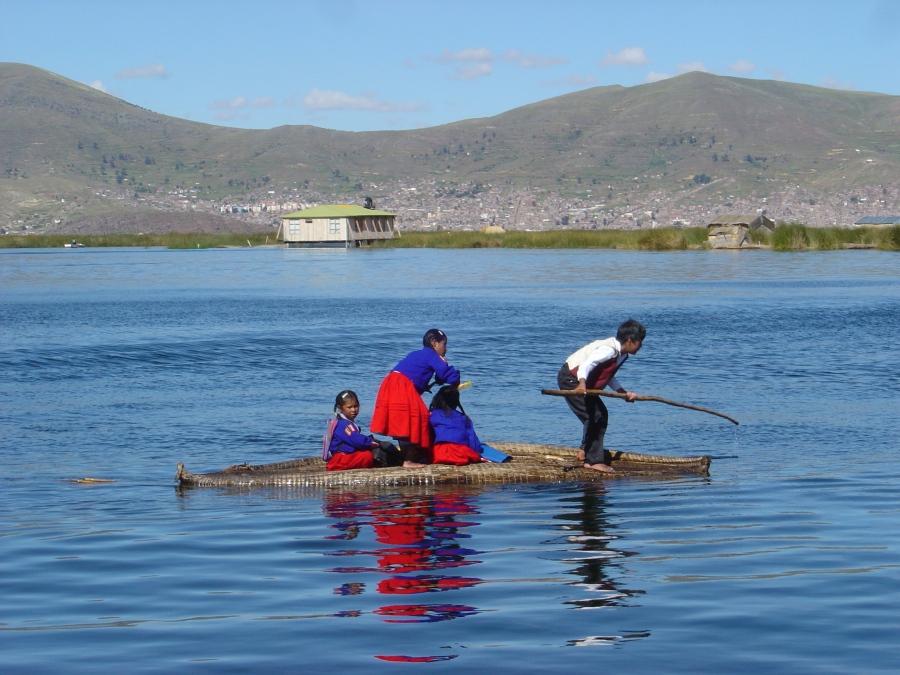 5 in x 7 in lago titicaca