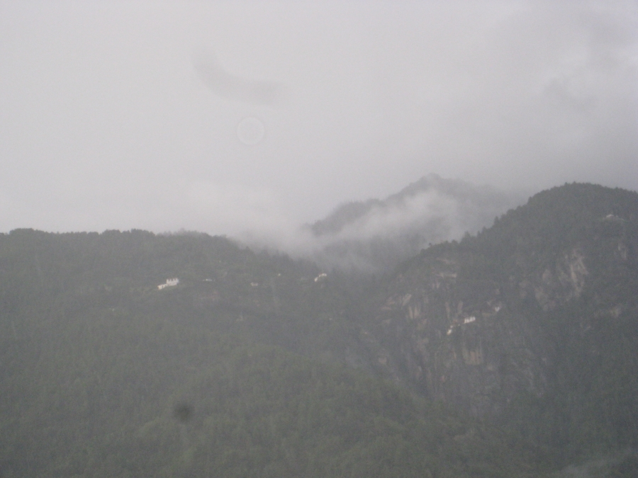 View From The Chelela Pass - We Went On A Drizzling and Foggy Day