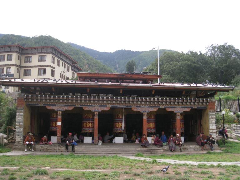 National Memorial Choeten in Thimphu