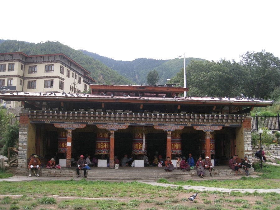 National Memorial Choeten in Thimphu