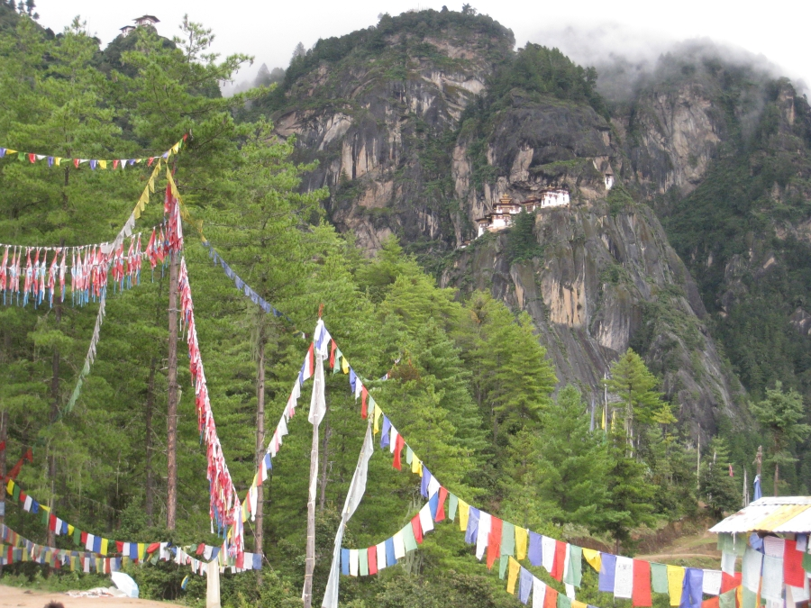 One of My Favourite Things About Bhutan is Their Colorful Prayer Flags.