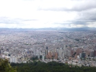 View of Bogota from Montserrate, Colombia