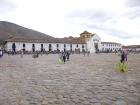 Plaza Mayor of Villa de Leyva, Boyaca, Colombia