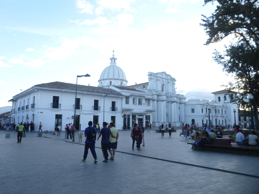 Iglesia de San Francisco in the Plaza Mayor, Popayan