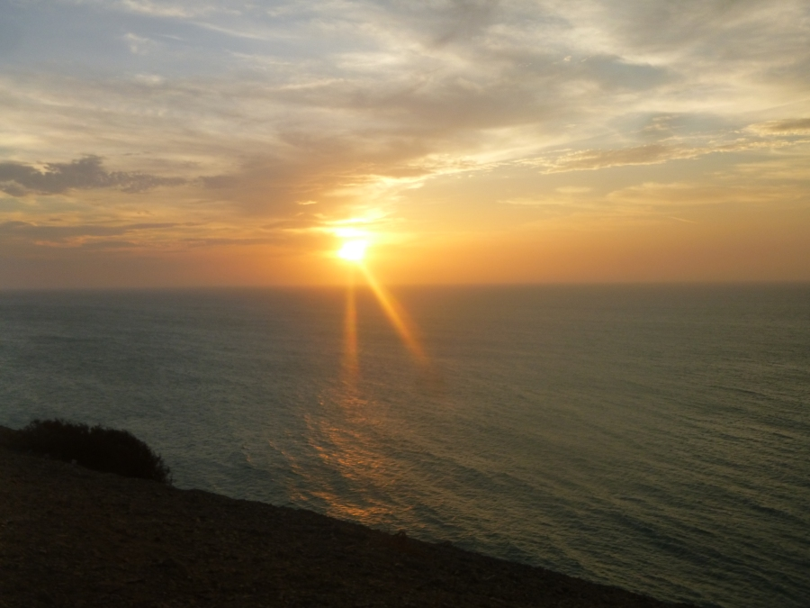 Sunset From The Hill of the Lighthouse of Cabo de La Vela