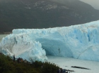 Perrito Moreno Glacier, Patagonia, Argentina - In The Process of Breaking Off (Unfortunately It Happened In The Middle of the Night)