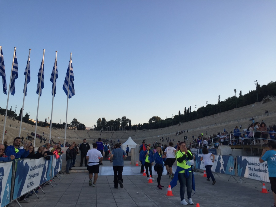 Panathenaic Stadium - The Last 250 Metre of the 42.195 KM Course
