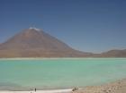 Colored Lagoon in Eduardo Avaroa Natural Park in Bolivia