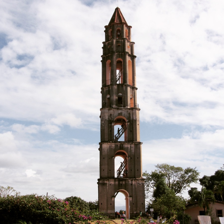 The Observation Tower in Manaca Iznaga, Valle de Los Ingenios