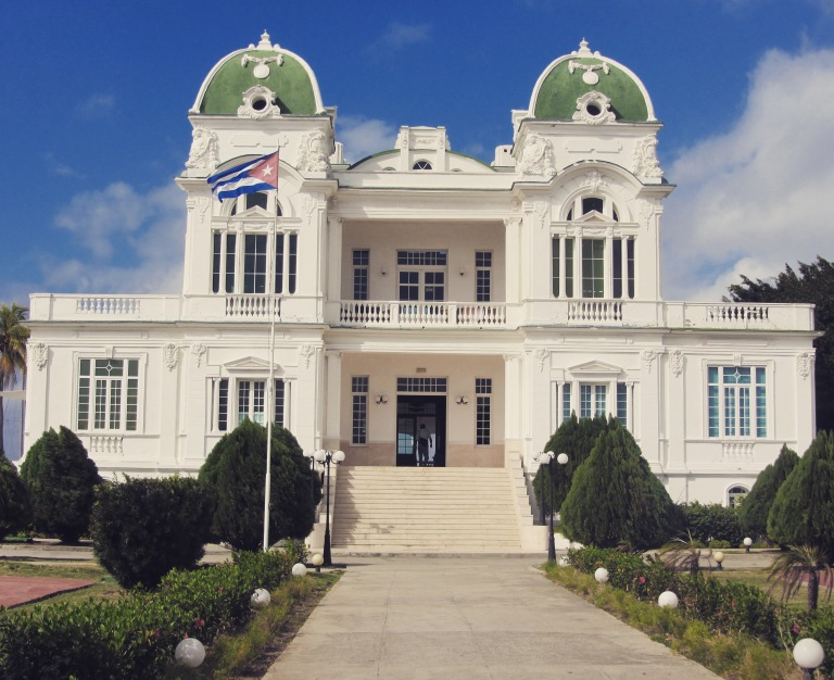 Club Cienfuegos, One of the Heritage Colonial Buildings Left in Cuba