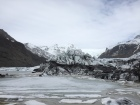 Svínafellsjökull glacier where we had our glacier hike and where they filmed Interstellar movie.