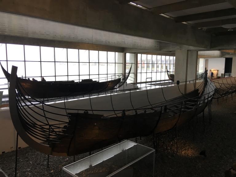 5 Viking shipwrecks discovered in Riskolde fjord.